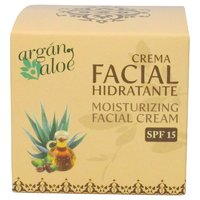 Argan-Aloe Crema Facial Hidratante, 100 ml