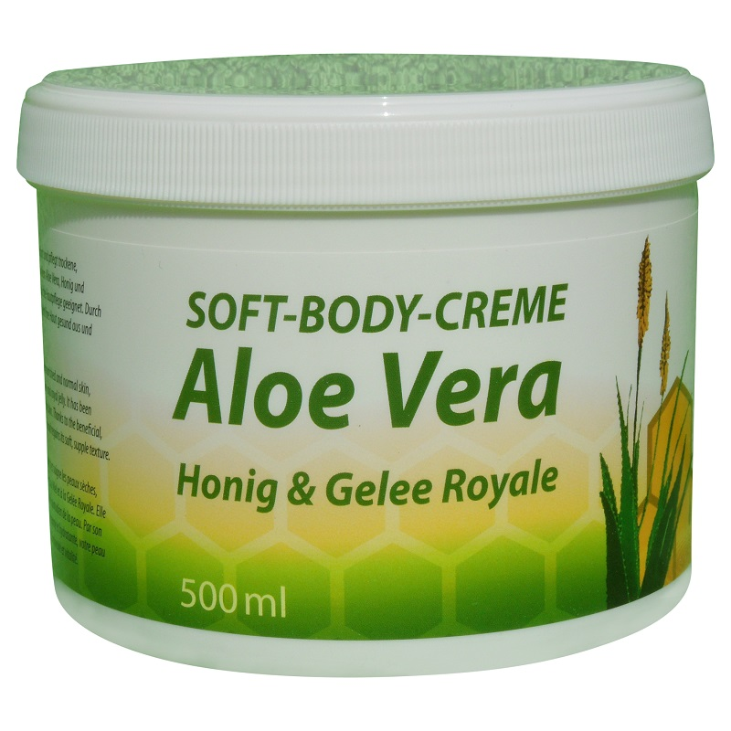 bodycreme aloe vera honig gelee royale 500 ml. Black Bedroom Furniture Sets. Home Design Ideas